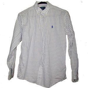 Boys Polo long sleeve dress shirt